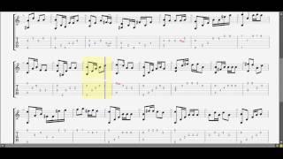 Tâm điểm yêu thương (Em) guitar solo tab by D U Y