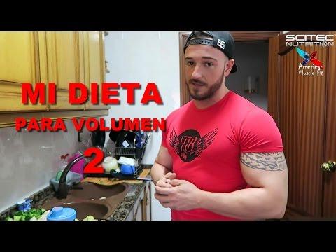 dieta 3500 calorias para volumen