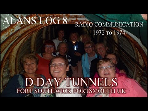alans log 8 FORT SOUTHWICK TUNNELS the ladys and man that worked there 1972 to 1974