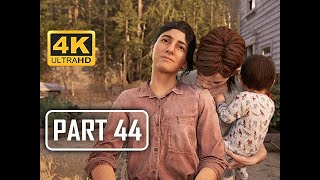 The Last of Us Part 2 Walkthrough Part 44 - The Farm (4K PS4 PRO Gameplay)