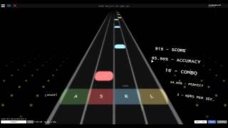 Roblox Music #2 Metallica Solo ( Rhythm Track )