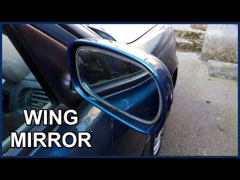 For Nissan Micra Mk4 2010-/> Wing Mirror Glass O//S Drivers Side Right