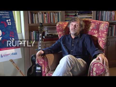 Serbia: Filmmaker Emir Kusturica says Putin's 'gentle nature' to thank for state of Russia today