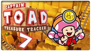 Let's Play CAPTAIN TOAD: TREASURE TRACKER Part 7: Captain Toadettes Treasure Tracker