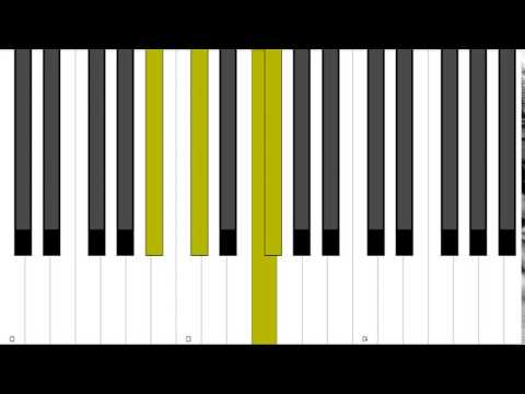 Eb Minor 9 Rootless Piano Chord Inversion Youtube