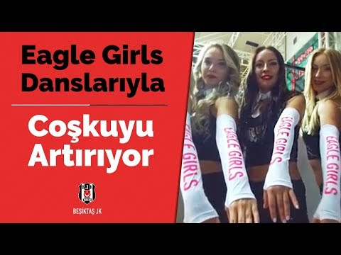 Beşiktaş Sompo Japan parkeye çıkıyor Eagle Girls danslarıyla coşkuyu artırıyor!