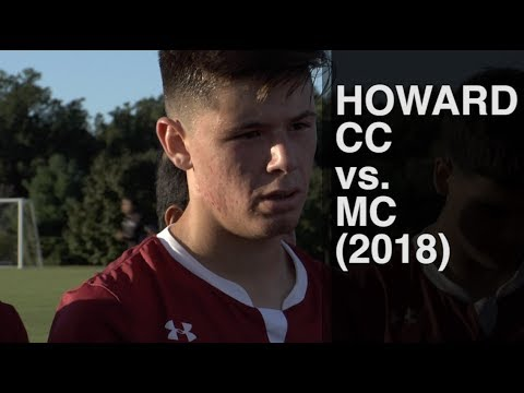 Howard CC at Montgomery College (2018 NJCAA Men's Soccer)