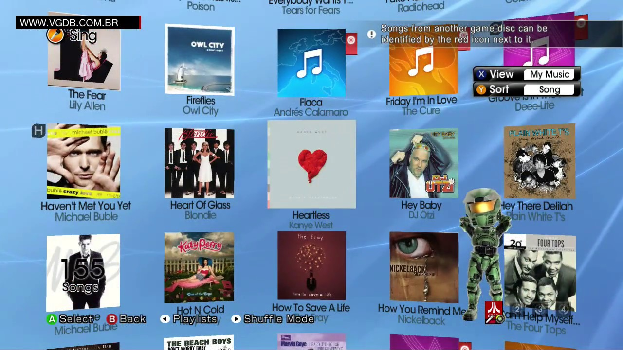 lips: number one hits (playlist / song list) - microsoft xbox 360