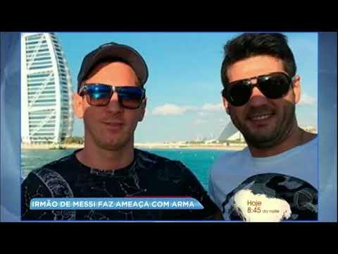 Hora da Venenosa: irmão de Messi aponta arma e ameaça motorista no trânsito