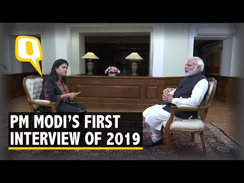 Prime Minister Narendra Modi's First Interview of 2019