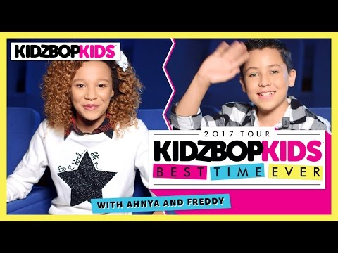 Best Time Ever with Ahnya & Freddy from The KIDZ BOP Kids