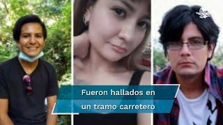 La Fiscalía General de Jalisco confirmó el hallazgo de los tres jóvenes; no se ofrecieron mayores detalles