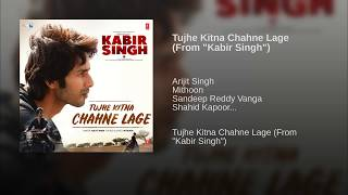 Tujhe Kitna Chahne Lage Hum Full Song : Kabir Singh | Arijit Singh | Audio | Lyrics | Mp3