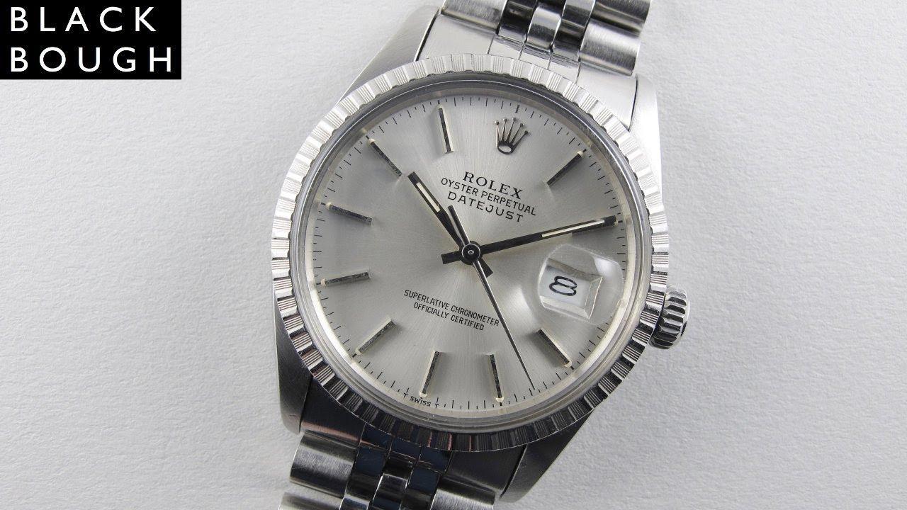 cb2ecd74653e Rolex Oyster Perpetual Datejust Chronometer Ref. 16030 vintage wristwatch