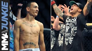 Mike Bohn reacts to the booking of Max Holloway vs. Dustin Poirier at UFC 236