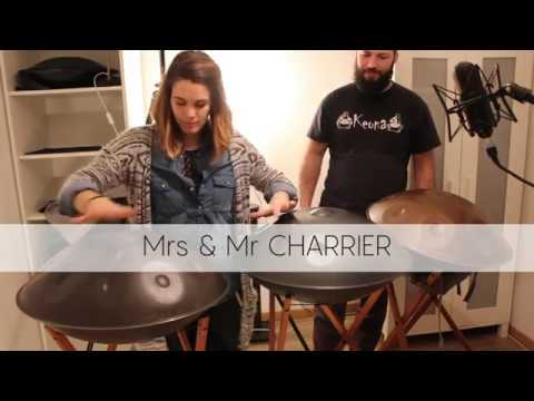 Handpan music with Mrs & Mr CHARRIER