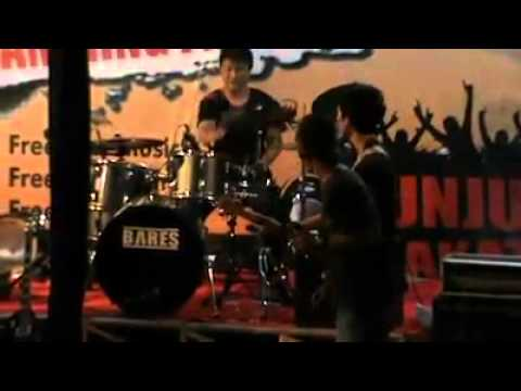 buztanul band Lampung cover kepada perang Gong 2000