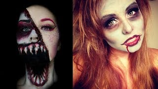 Halloween Makeup - Pretty And Scary Halloween Makeup Ideas - MUST SEE 2018