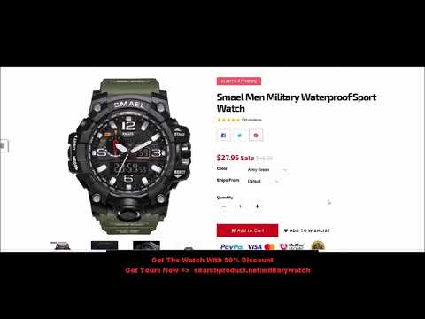 Military Watch Compass