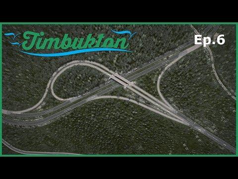 [Ep.6] Cities Skylines - Timbukton Region : Building a Large Trumpet Interchange