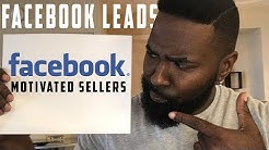 Using Facebook To Find Motivated Sellers | Wholesaling Real Estate 101