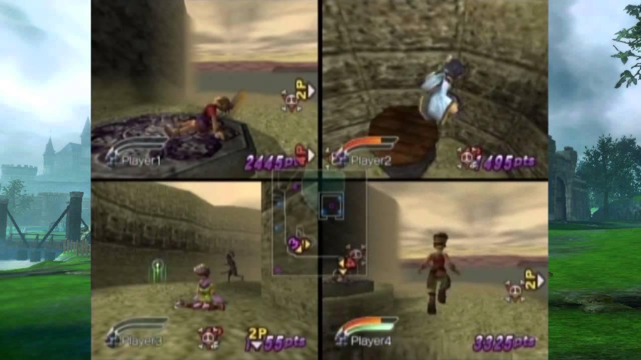 mystic heroes gamecube game