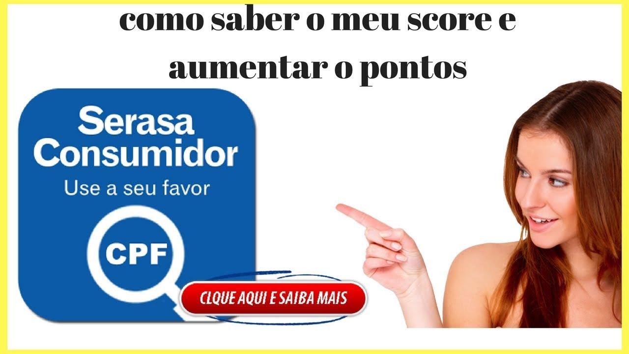 SCORE BAIXO COMO RESOLVER E AUMENTAR OS PONTOS