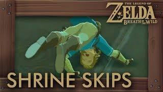 Zelda Breath of the Wild - Shrine Skip Compilation #3 (Speedrun Tricks)