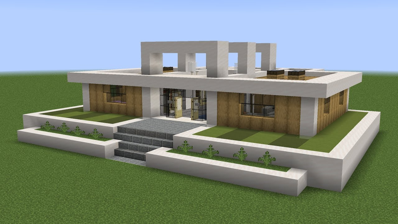 Minecraft - How to build a bungalow house