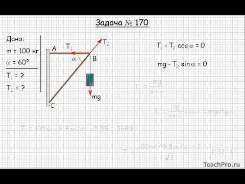 Статика задачи и решения физика решу егэ задача 17