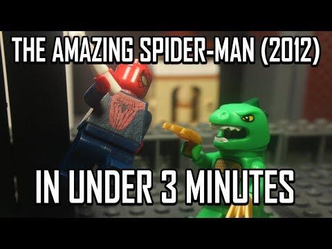 THE AMAZING SPIDER-MAN (2012) IN UNDER 3 MINUTES
