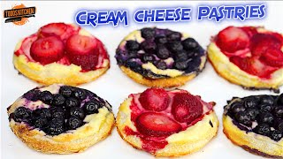 Cream Cheese Pastries Recipe
