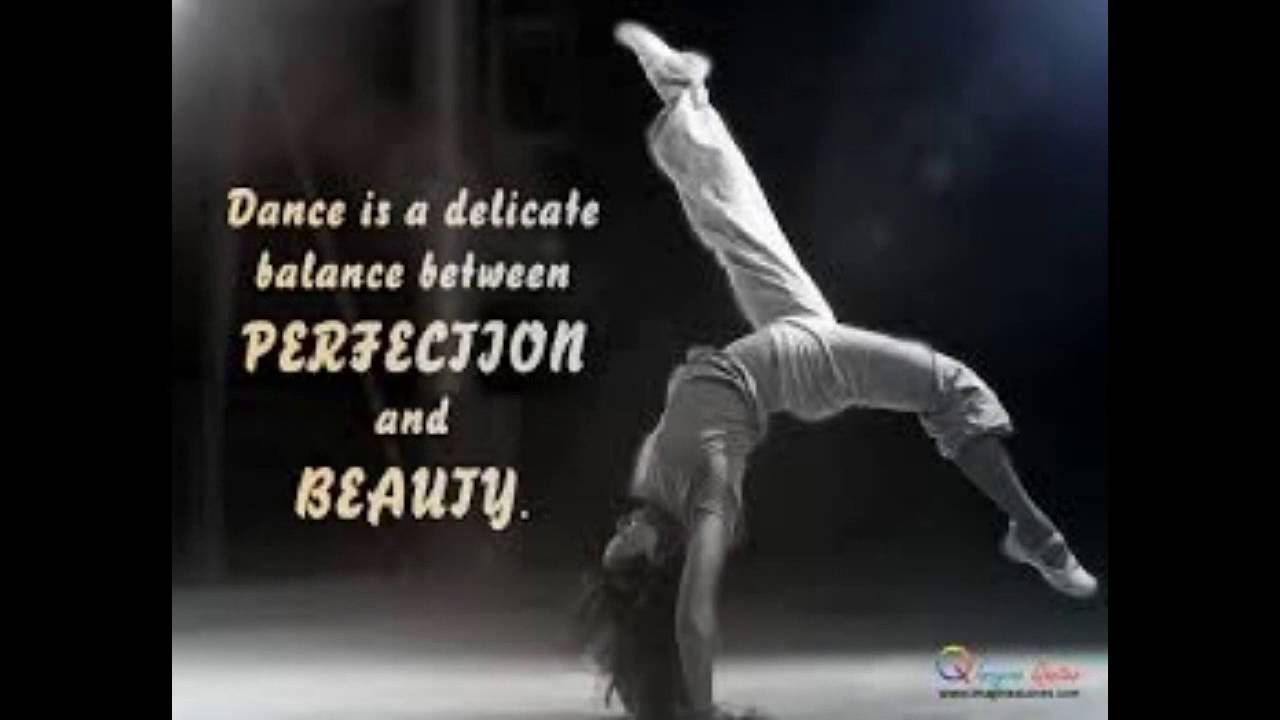 Inspirational Dance Quotes Cool Inspirational Quotes For Dance  Youtube