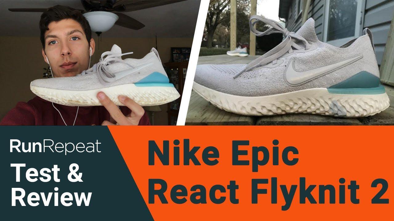 Nike Epic React Flyknit 2 test \u0026 review