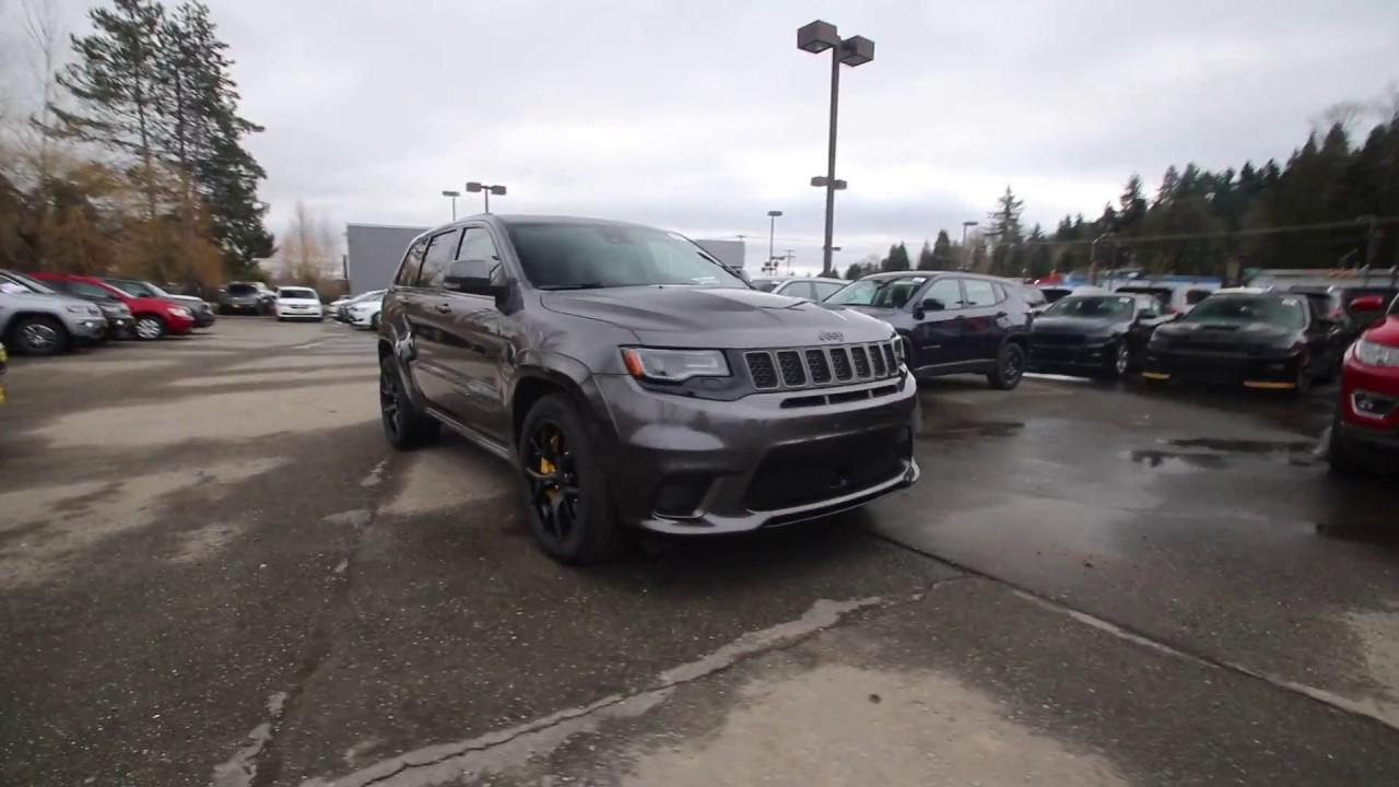 2018 Jeep Grand Cherokee Trackhawk 4x4 Granite Jc284092