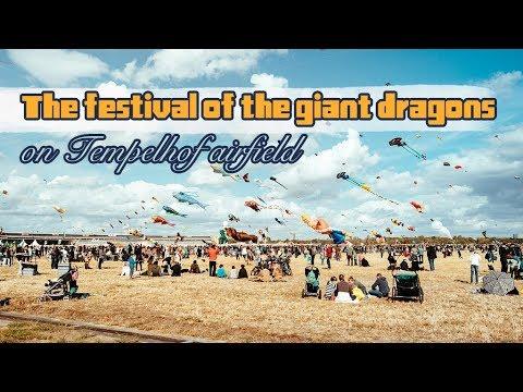 Live: Germany's giant dragons festival德国柏林巨龙节