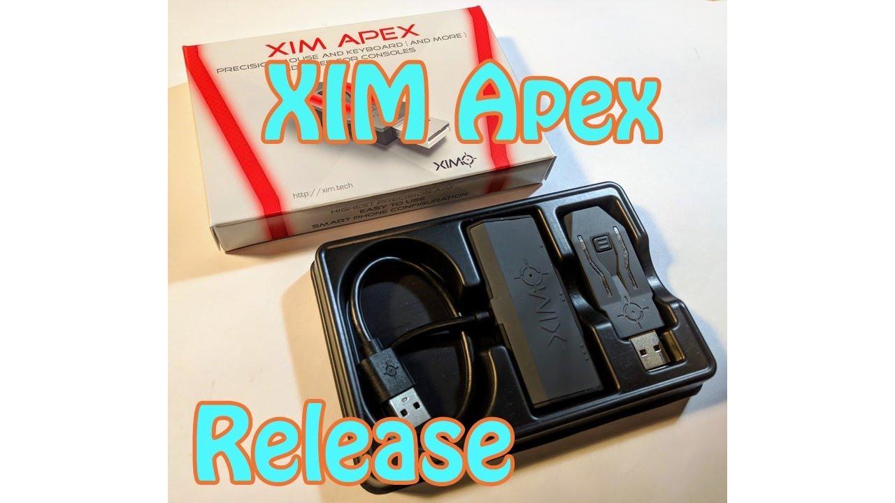 XIM Apex Release Information (Apex launch date, price, etc )
