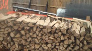 Chris Orser Landscaping; Selling Firewood