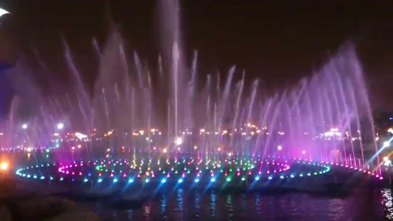 نافورة منتزه الملك عبد الله - الرياض - مولاي صلي ( ماهر زين ) - YouTube