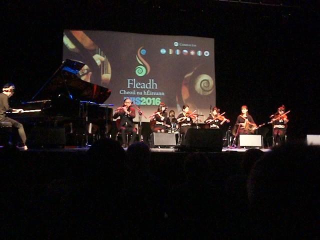 Toyota Ceili Band @ Fleadh Cheoil 2016 Overseas Concert