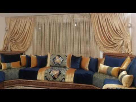 salon marocain 2017 youtube. Black Bedroom Furniture Sets. Home Design Ideas