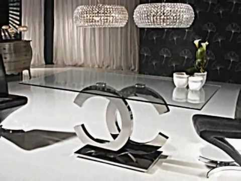 Novedades decoracion mesas comedor salon estilo moderno youtube - Ideas para decorar un salon moderno ...