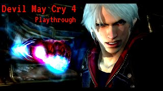 Devil May Cry 4 Playthrough: intro+mission 1 No commentary