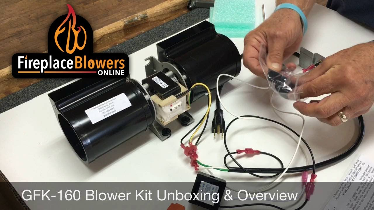 [ANLQ_8698]  GFK-160 Blower Kit Unboxing & Overview - YouTube | Wiring Diagram For A Gas Fireplace Blower |  | YouTube