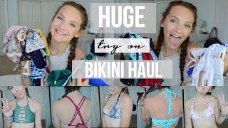HUGE AFFORDABLE BIKINI HAUL + TRY ON!