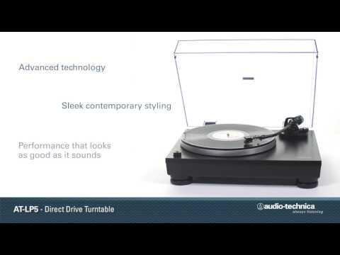 from Audio Technica AT-LP5 Turntable Tonearm J Shape Black Gimbled Bearings