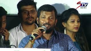 Dinesh master Speech @ Oru Kuppai Kathai movie audio launch  Dhinesh, Manisha Yadav STV