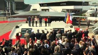 Salon du Bourget: le futur avion de combat franco-allemand dévoilé | AFP Images