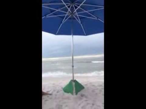 how to make an umbrella base