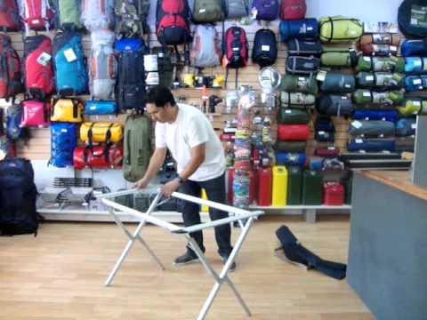 Mesa Aluminio Plegable Cómo De Waterdog Instrucciones Armar PZuOikX